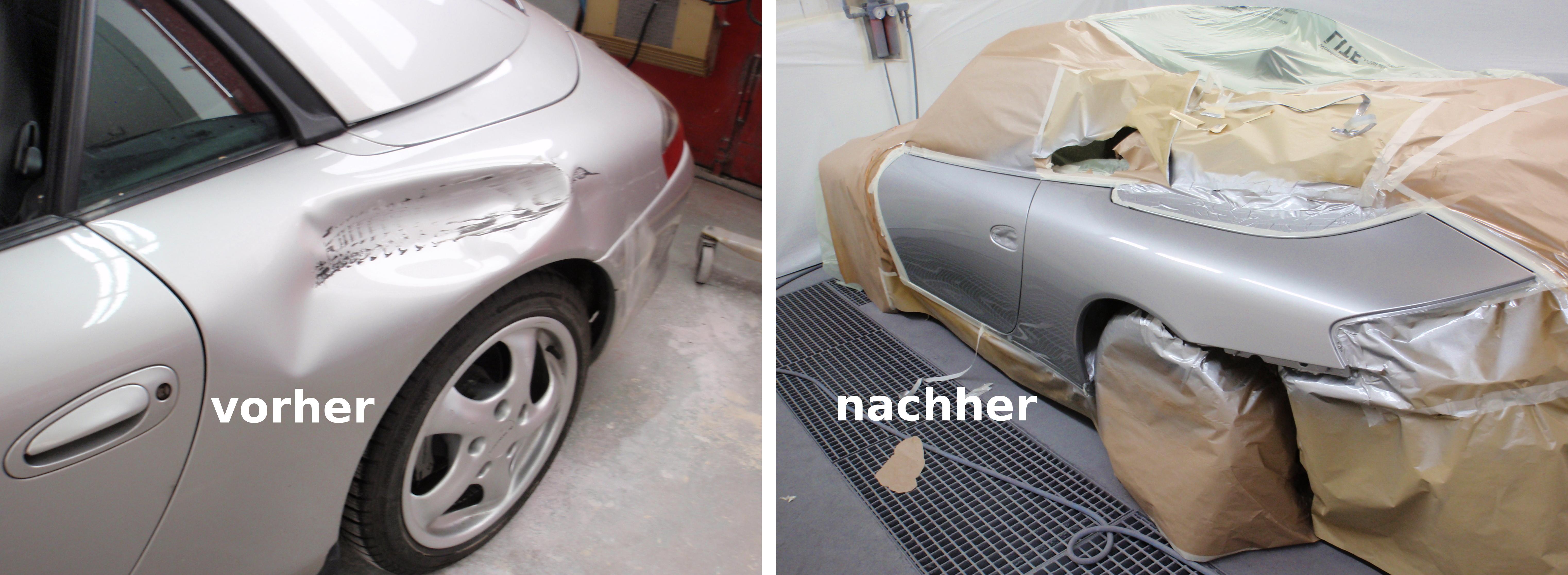 Karosserie Reparatur Porsche Rüsselsheim